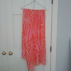 Lilly pulitzer summer scarf wrap